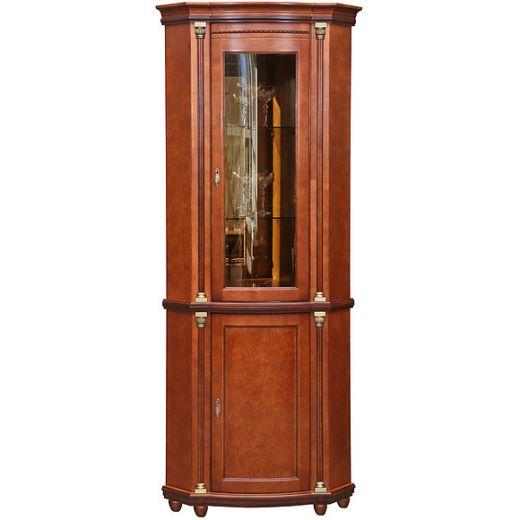 Шкаф с витриной Валенсия 1уз П244.13