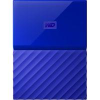 Внешний жесткий диск WD 4TB My Passport синий