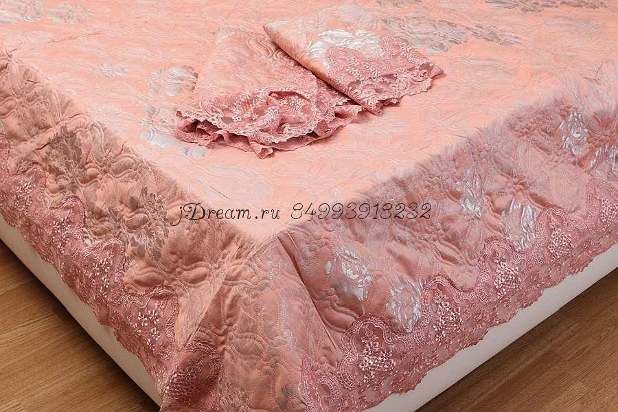 "Покрывало ""Блюмарин"" (Bluemarine) Розовое"