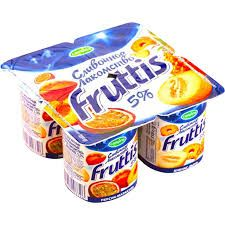 Йогурт Фруттис 5% сливоч/перс/мар/ан/дыня 115г ООО Кампина