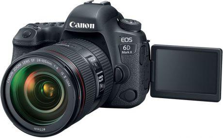 Фотоаппарат Canon EOS 6D Mark II Kit EF 24-105mm f/4L IS II