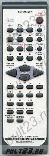 SHARP RRMCG0347AWSA, XL-HP500, XL-HP700