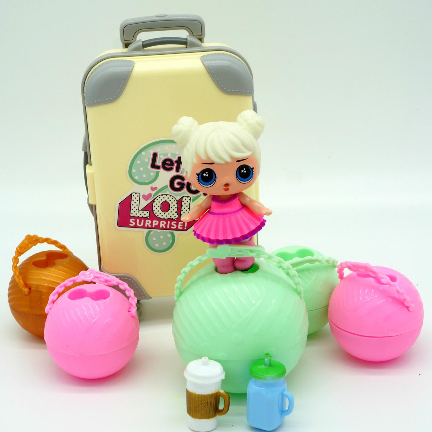 Кукла лол с чемоданом купить