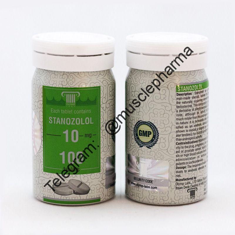 STANOZOLOL (СТАНОЗОЛОЛ). OLYMP. 100 таб. по 10 мг.