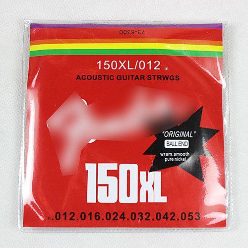 FENDER 150XL/12 (12-52) Струны для акустической гитары