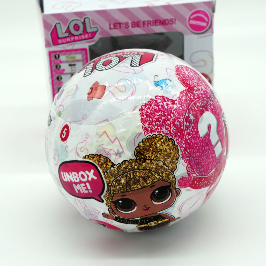 Кукла LOL  в шаре Glitter