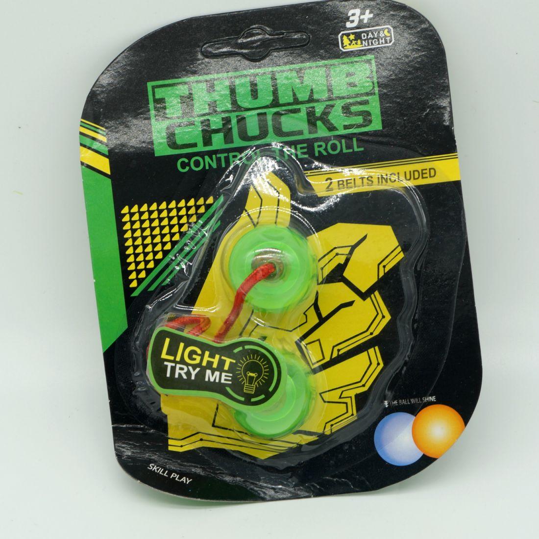 "Светящаяся скиллтой-игрушка ""thumb chucks """