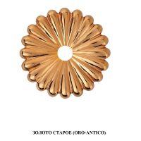 Ручка Enrico Cassina C51000 для раздвижных дверей античное золото