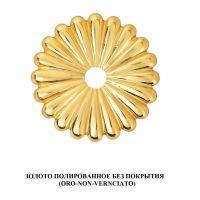 Ручка Enrico Cassina C51000 для раздвижных дверей. золото полированное без покрытия