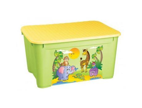 Ящик для игрушек БЫТПЛАСТ 555х390х290 с аппл