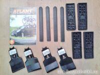 Адаптеры для багажника Volkswagen Polo 2009г-... hatchback, Атлант, артикул 8646
