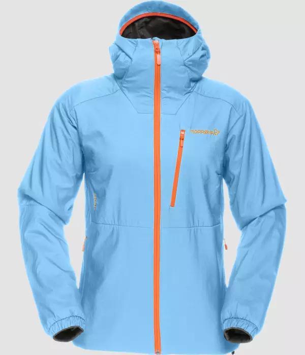 Norrona Lofoten Alpha Jacket W ICE BLUE