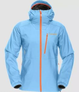 Norrona Lofoten Alpha Jacket W ICE BLUE