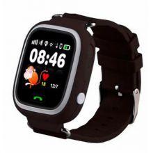 Умные детские часы с GPS Smart Baby Watch Q80, Черный