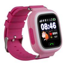 Умные детские часы с GPS Smart Baby Watch Q80, Розовый