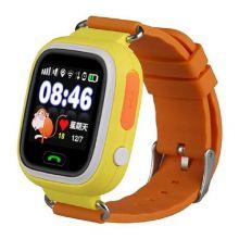 Умные детские часы с GPS Smart Baby Watch Q80, Оранжевый