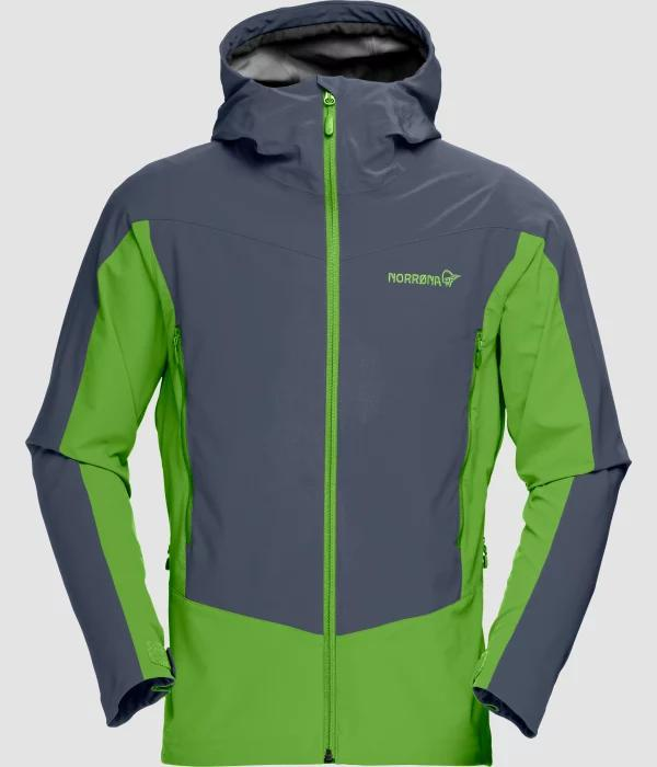 NORRONA Falketind Windstopper hybrid Jacket (M) COOL BLACK