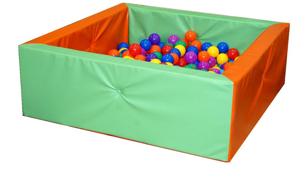 Сухой бассейн детский, квадратный, прошивка