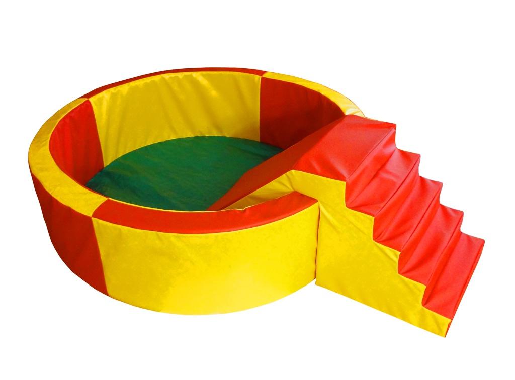 Сухой бассейн для шариков, круглый 1,4 м