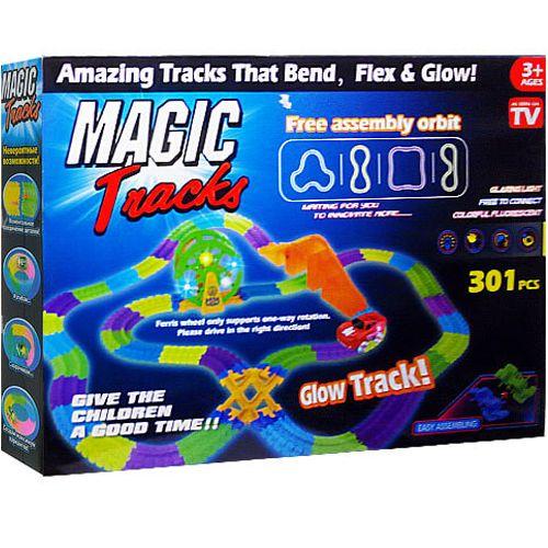 Гибкий Трек Magick Tracks 301 С Колесом Обозрения, Мостом  И Перекрестком