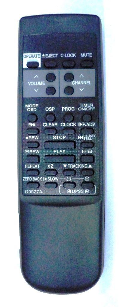 Sharp G0927AJ (TV/VCR) (VT-1480B, VT-2198)