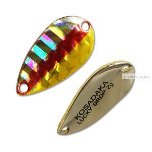 Блесна Kosadaka Trout Police Lucky Drop 2гр / 23мм / цвет: Z04