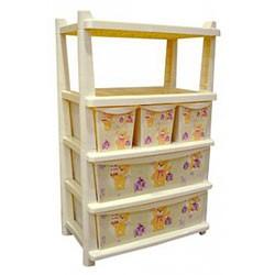 Комод для детской комнаты комбинированный Bears 4705LA-IR