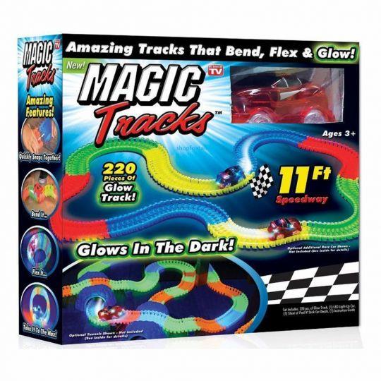 Волшебный трек Magic Tracs  220 деталей