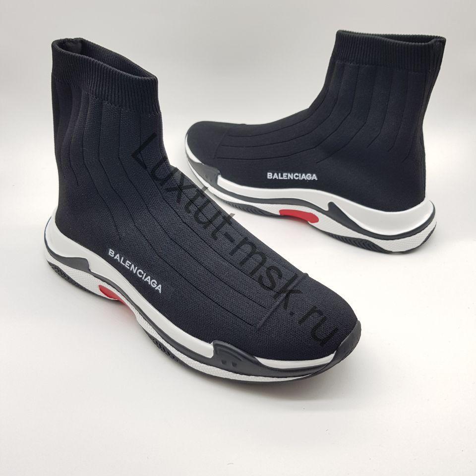 cef1907f Мужские кроссовки носки Баленсиага (Balenciaga) стрейчевые купить ...
