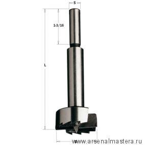 CMT 537.190.31 Сверло Форстнера SP 19,05x90 Z2/2 S9,52 RH