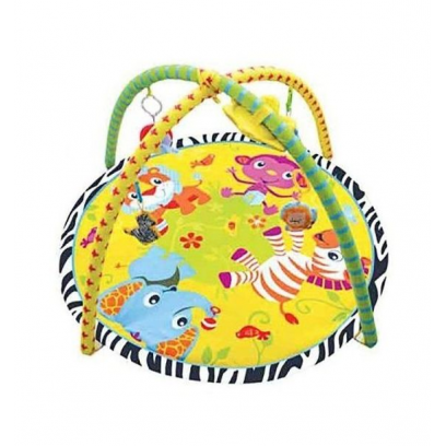 Fe Дет.игр.коврик с игрушками Весёлый Зоопарк, 303