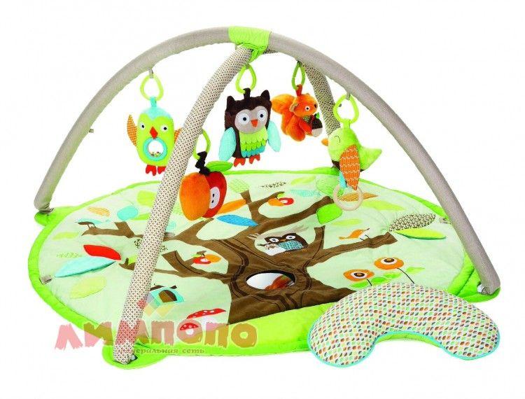 """Felice F Детский коврик """"Волшебный дуб"""" с муз.птичкой, подушка, игров.дуги с игрушк.,11FS"""