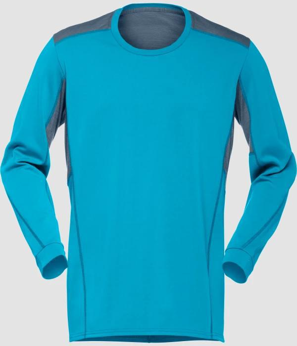 Norrøna falketind super wool Shirt M CARIBBEAN BLUE