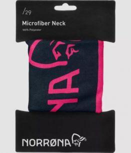 Norrona /29 microfiber neck GRAFITTI PINK