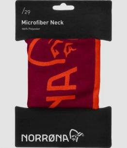 Norrona /29 microfiber neck HOT CHILI RED