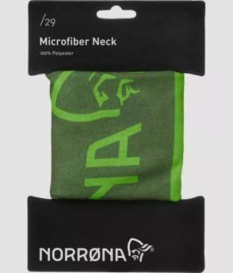 Norrona /29 microfiber neck CLEAN GREEN