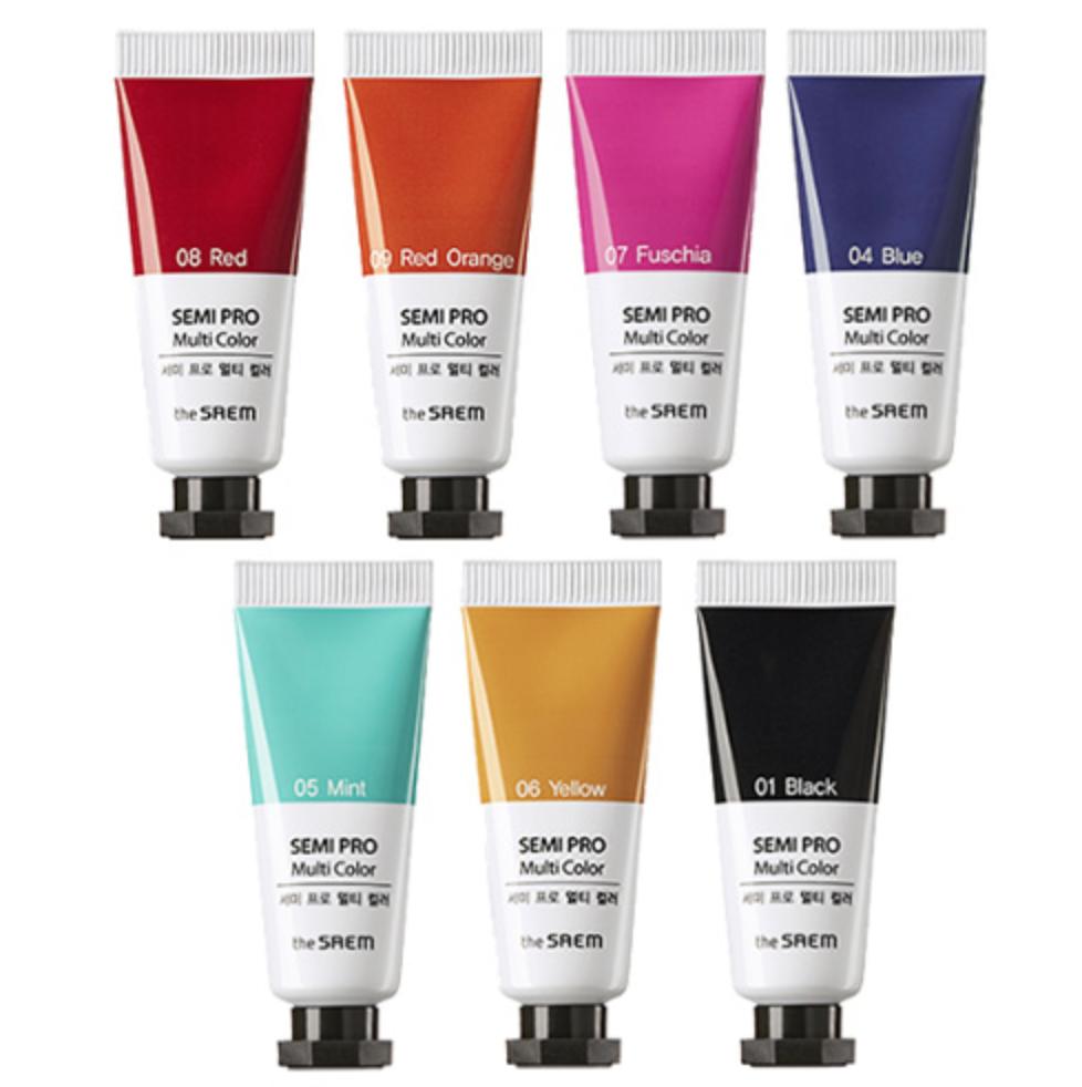 Универсальный цветной пигмент the SAEM Semi Pro Multi Color 5мл