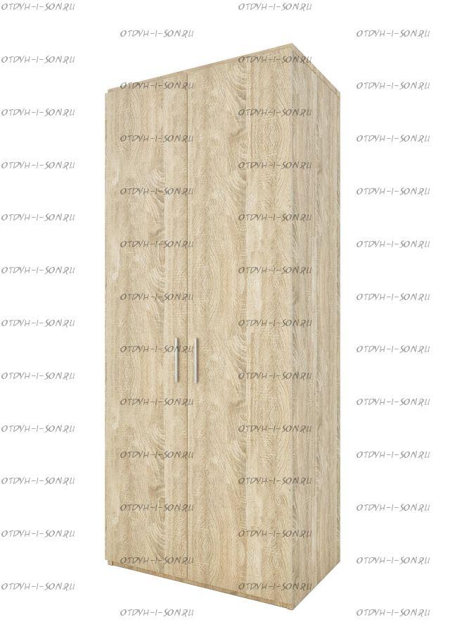 Шкаф 2-дверный Монморанси мод.1411.М2 или мод.1412.М2 (90х60х217)