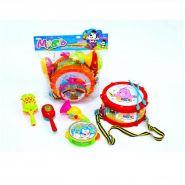 Набор детских музыкальных инструментов 5 предметов.