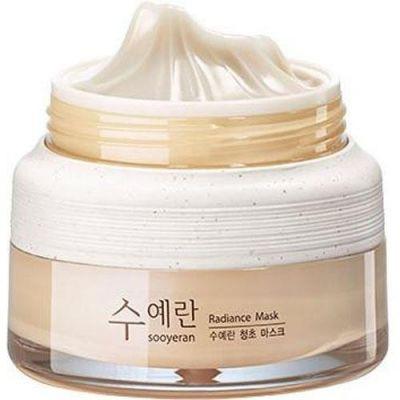 Маска ночная для яркости кожи The SAEM Sooyeran Radiance Mask 80ml