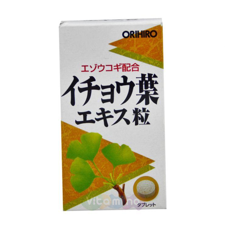 Orihiro Экстракт Гинкго Билоба с Элеутерококком, 240 табл.