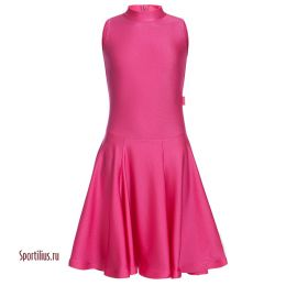 Платье для спортивных танцев, малиновое
