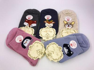 Женские носки с принтом животных , без шва. Хлопок 90% 36-41 рр