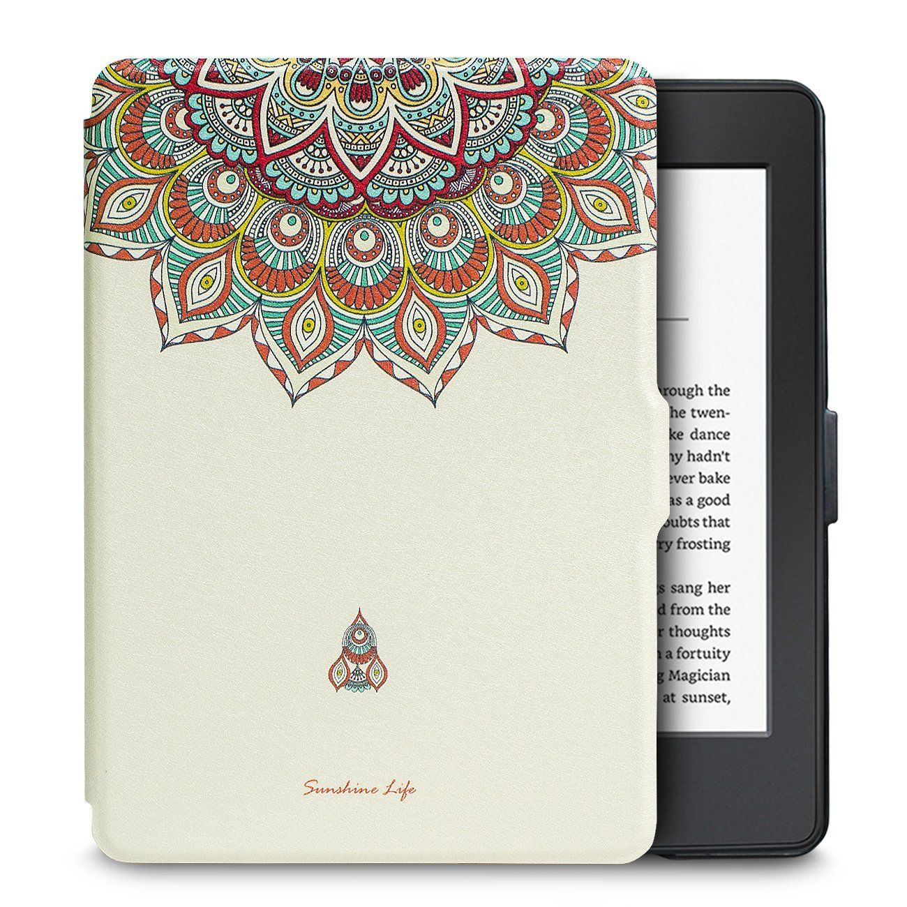 Чехол-обложка  для Amazon Kindle Paperwhite (Белый Тотем)