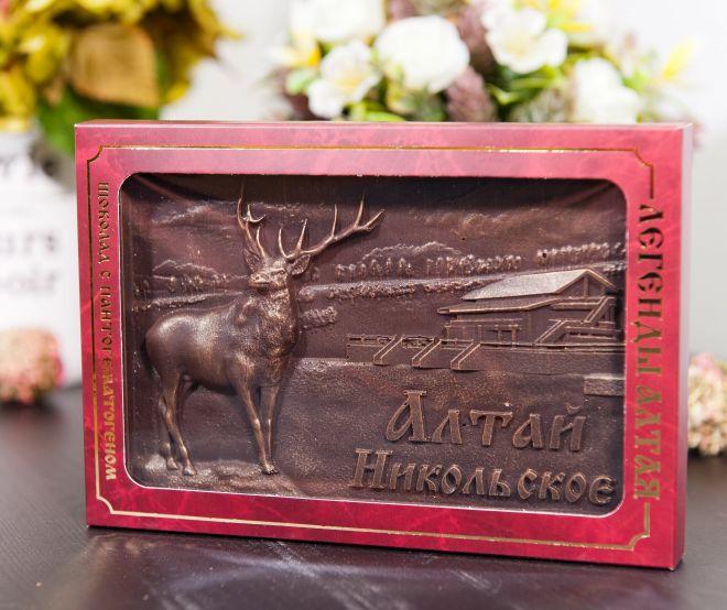 Шоколад «Легенды Алтая» 300 Грамм