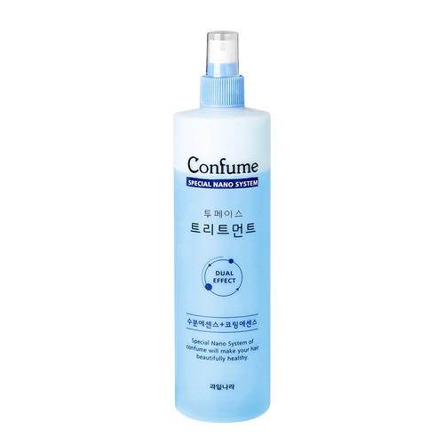 Спрей для волос двухфазный с лечебным комлексом для поврежденных волос Welcos Confume Two-Phase Treatment 530мл