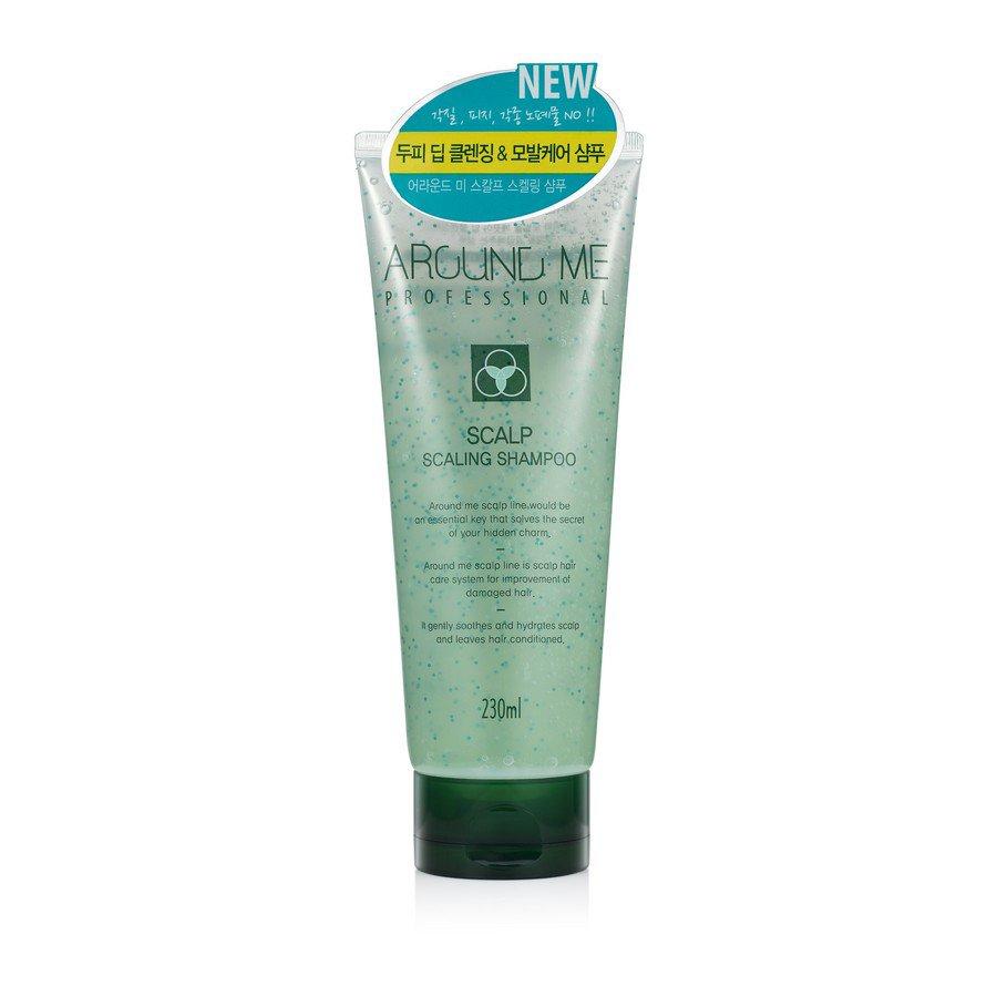 Шампунь-скраб для волос и кожи головы отшелушивающий Welcos Around Me Scalp Scaling Shampoo 230мл