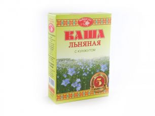 """""""Масляный Король"""" Каша льняная """"Добрый Лен"""" с кунжутом, коробка, 0,4кг"""