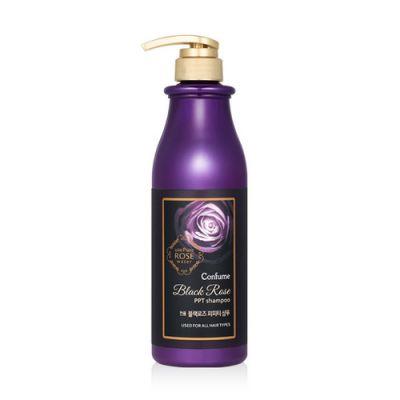 Кондиционер для волос с маслом дамасской розы Welcos Confume Black Rose PPT Conditioner 750мл