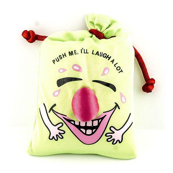 Мешок со смехом зеленый